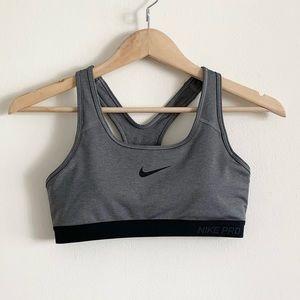 Nike Grey Sports Bra